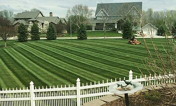 Scag Mowing Stripes